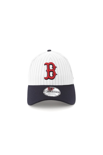 New Era Boston Red Sox 940 Strapback Pinstripe