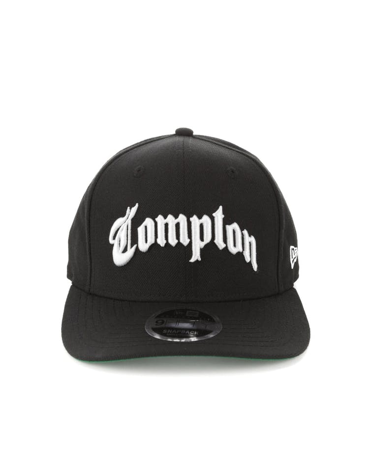 new style 7799a 62659 New Era Compton 9FIFTY Original Fit Snapback Black