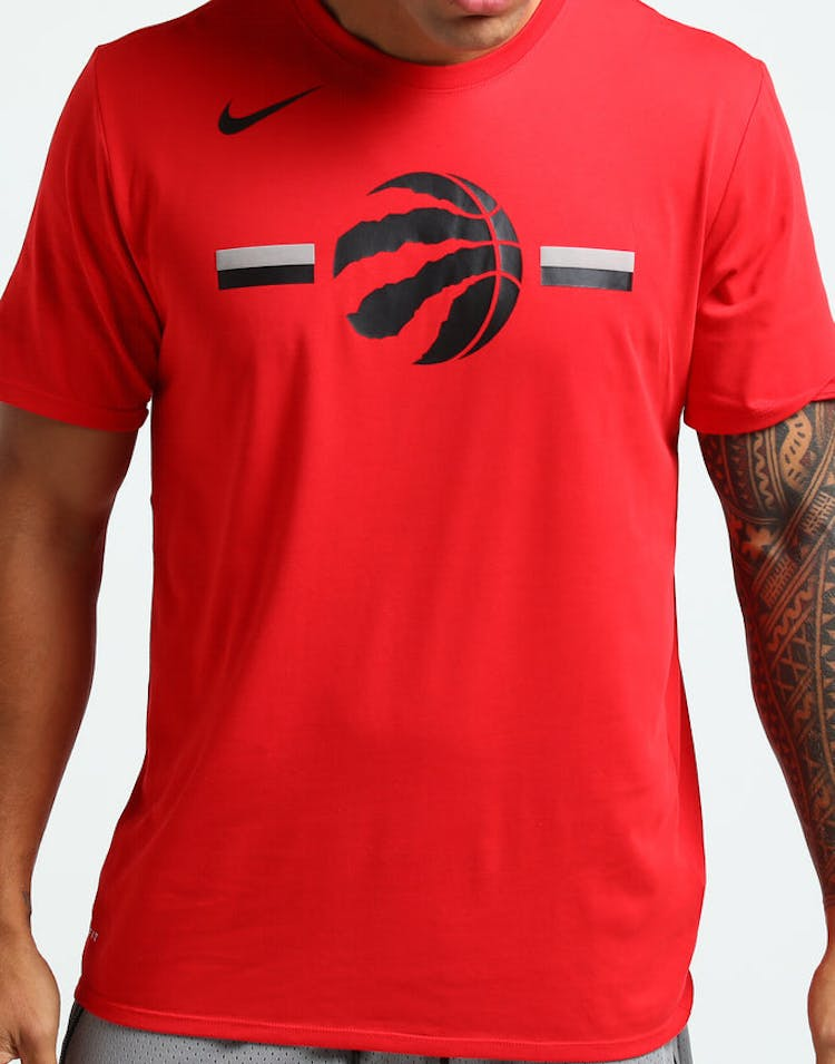 d1a6dbeb9 Nike Toronto Raptors Dry Logo Tee University Red – Culture Kings