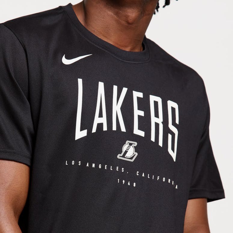 Nike Los Angeles Lakers Dri-fit Tee Black/Graphite