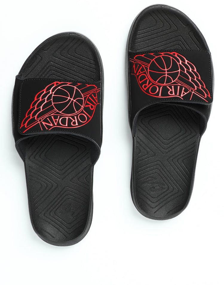 c8a76636e Jordan Hydro 7 Slide Black Red