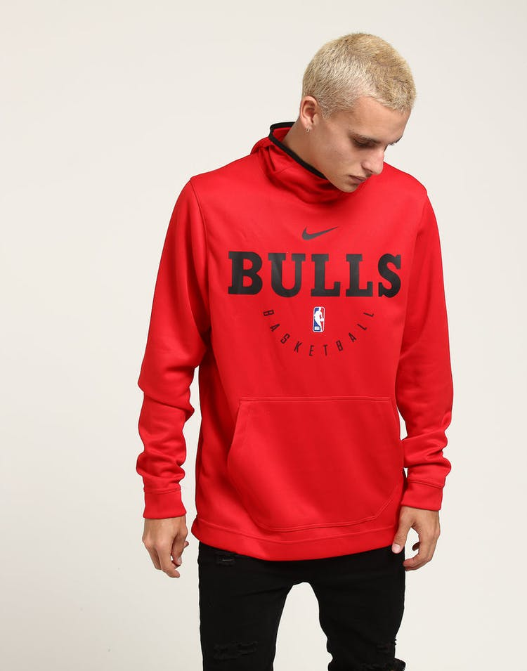 d9ac51d97 NIKE CHICAGO BULLS SPOTLIGHT HOODIE PULL OVER RED BLACK – Culture Kings