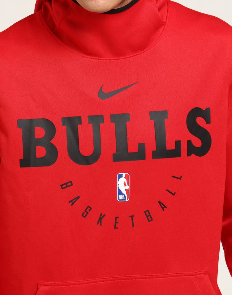 d18cec5f NIKE CHICAGO BULLS SPOTLIGHT HOODIE PULL OVER RED/BLACK – Culture Kings
