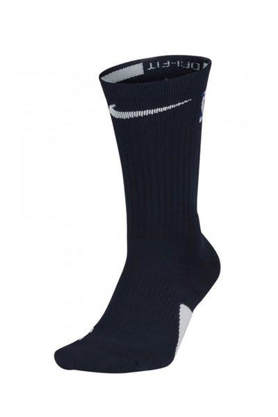 541855172 Nike Elite Crew Sock Navy/White ...