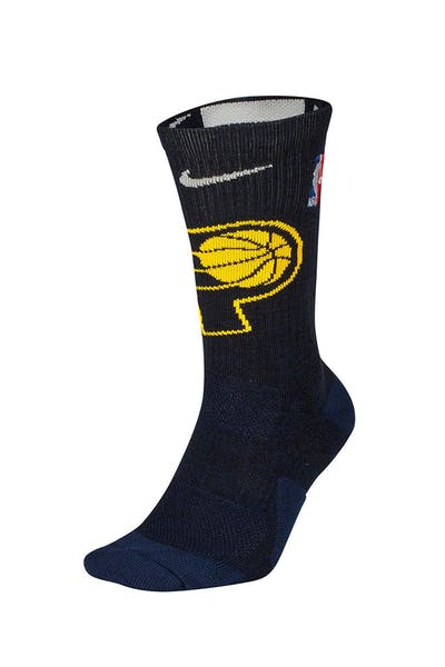 Nike Indiana Pacers Elite Crew NBA Sock Navy