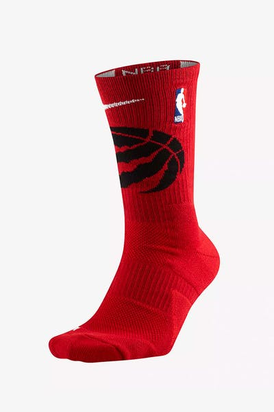 quality design 2e07d bbb76 Nike Toronto Raptors Elite Crew NBA Sock Red + Quick View