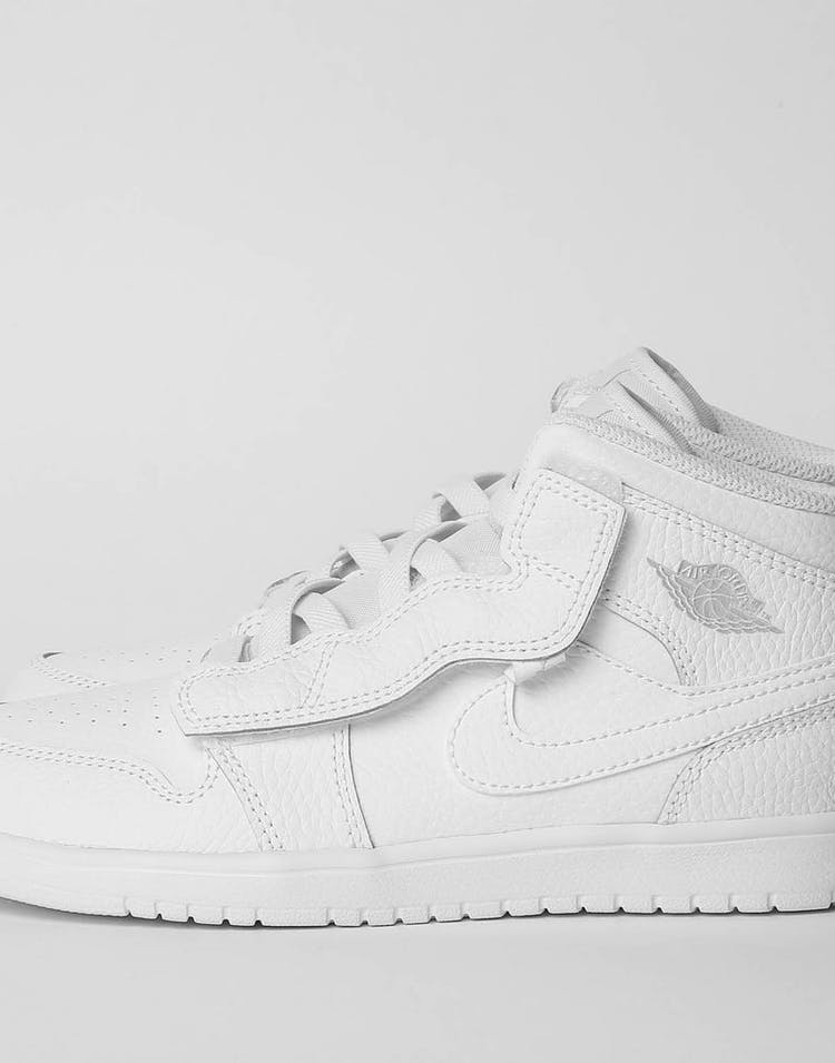 outlet store a618b 0f7f0 Jordan Kids Jordan 1 Mid Alt (PS) White/White – Culture Kings