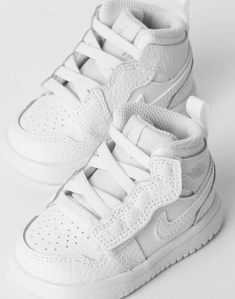 the best attitude fd9ca 44049 Jordan Toddler Jordan 1 Mid Alt White/White