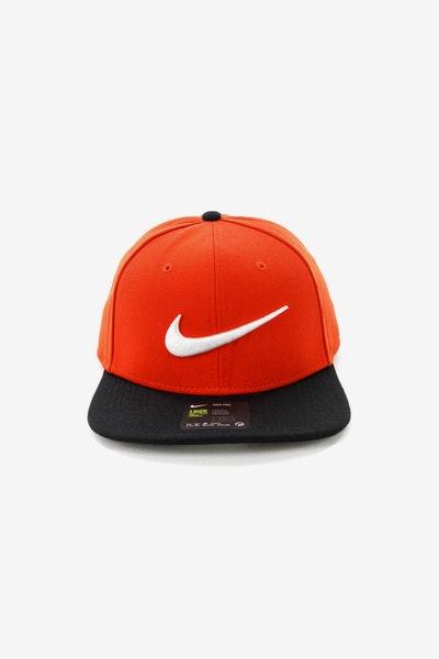 0d6c9bd4e93 Nike U NK Pro Cap Swoosh Classic Habanero Red Black