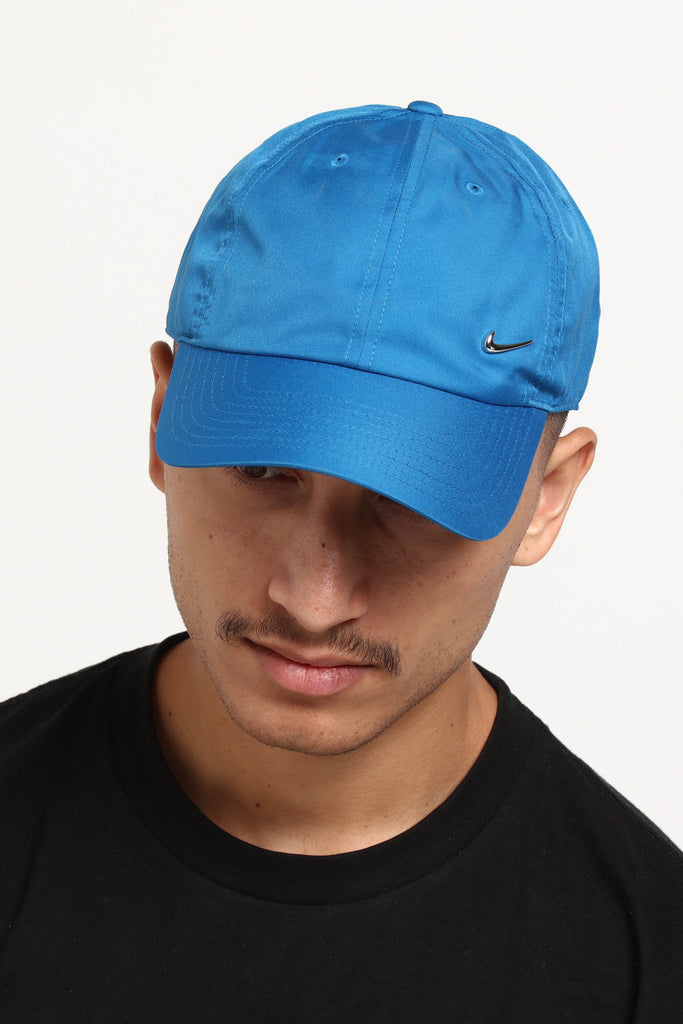 Nike Metal Swoosh H86 Adjustable Hat BlueSilver