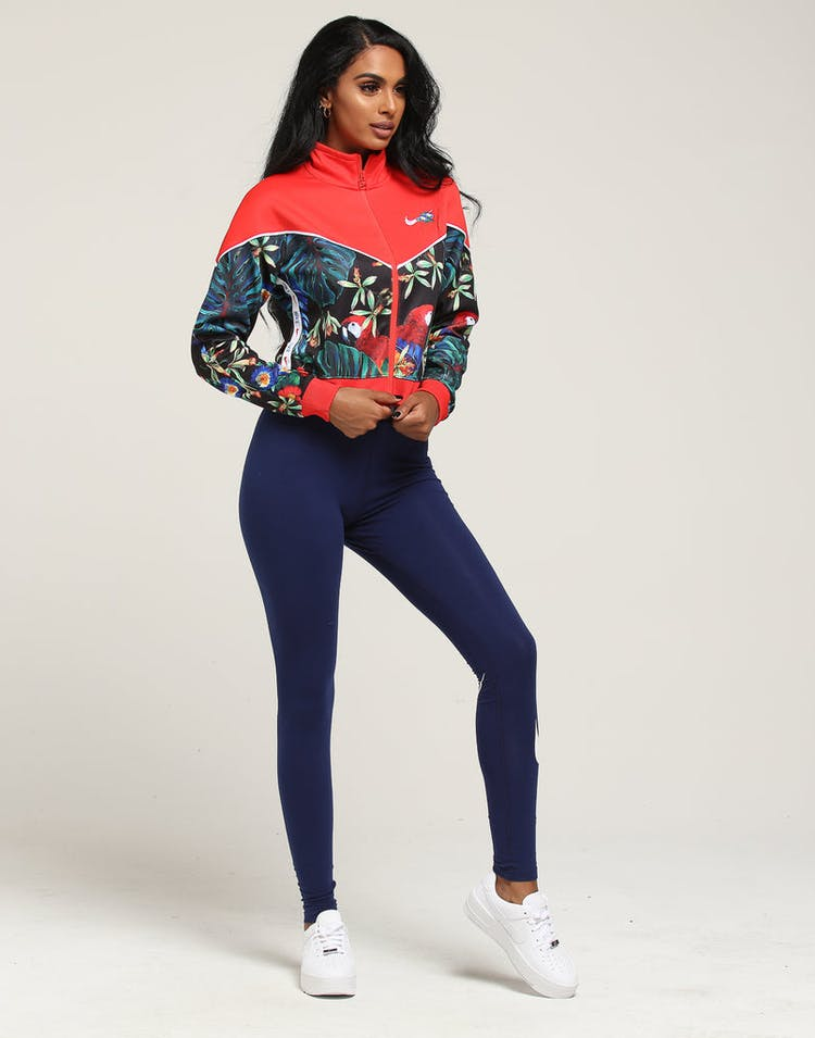 9c571cc8c840e Nike Women's NSW Jacket Full Zip Hyper Femme Crimson/Black – Culture ...