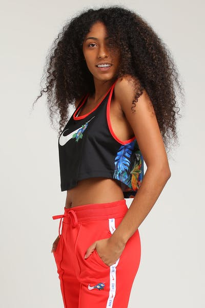 Nike Women's NSW Tank Hyper Femme Black/Crimson