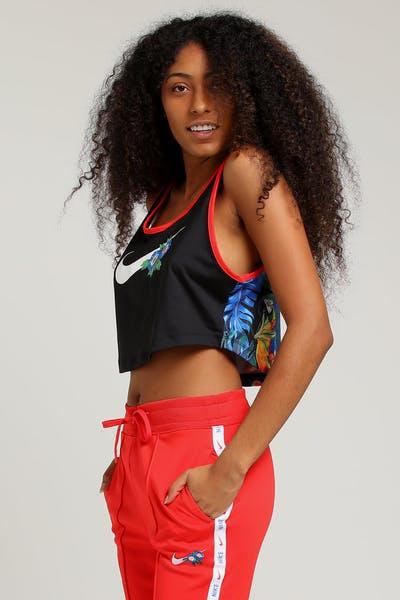 4ea40dbdafee Nike Women s NSW Tank Hyper Femme Black Crimson