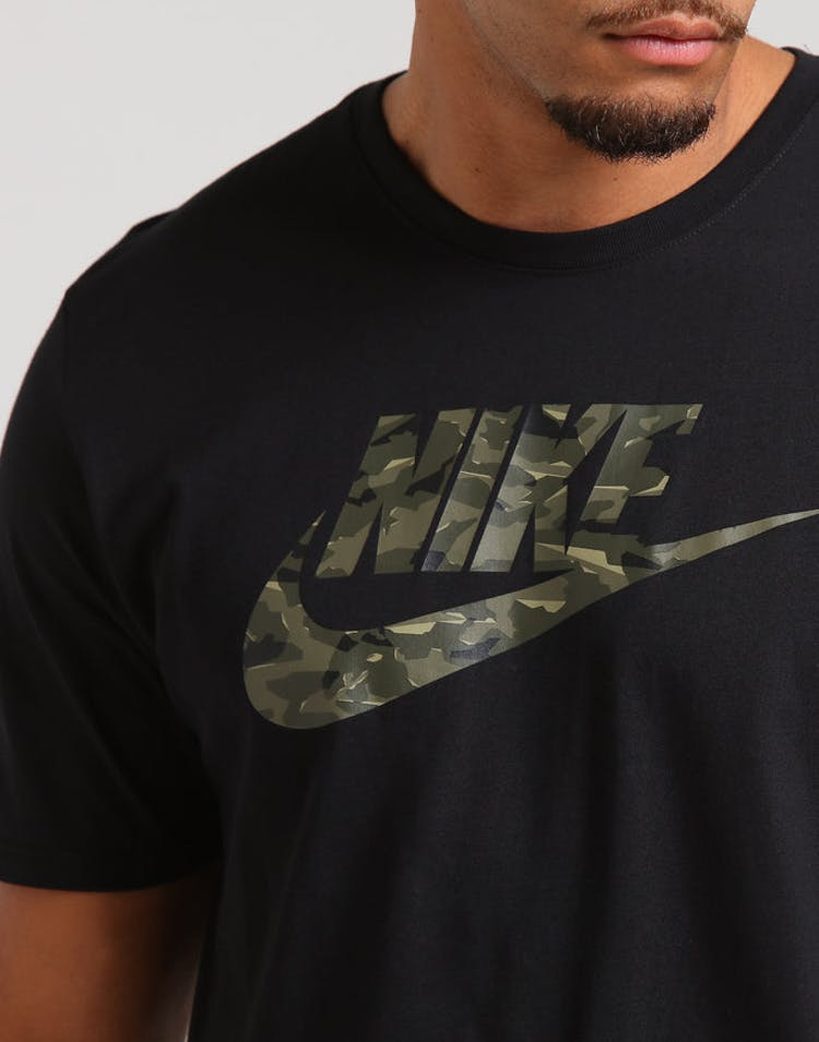 ac31d344 Nike NSW Camo Pack 2 Tee Black/Olive – Culture Kings