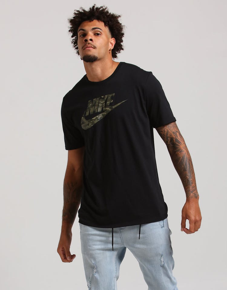 163d3e12 Nike NSW Camo Pack 2 Tee Black/Olive – Culture Kings