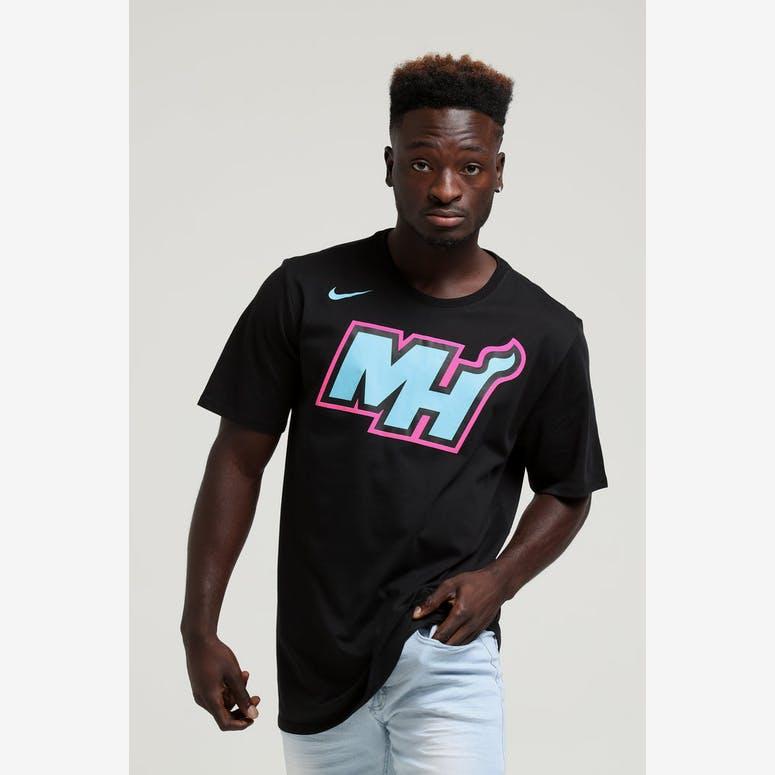 Nike Miami Heat City Edition NBA Dri-Fit Tee Black – Culture Kings 0c6378336