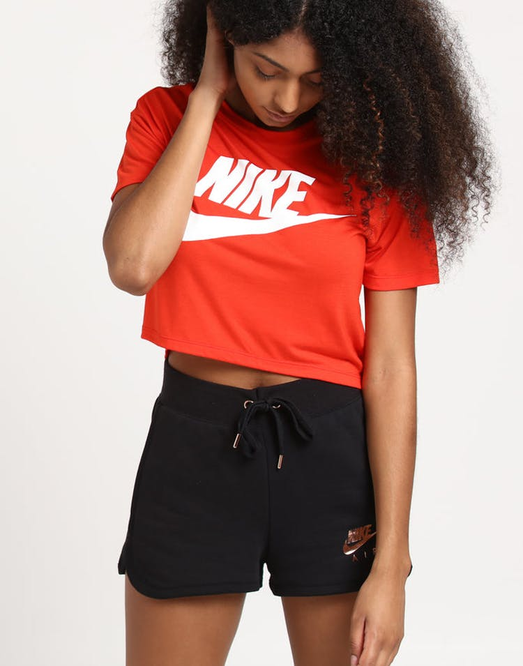 09c32849cf Nike Women's NSW Essential SS Crop Top Habanero Red – Culture Kings