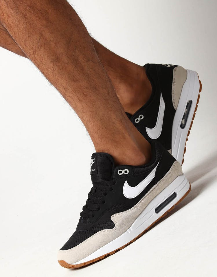 brand new badba 60a2a Nike Air Max 1 Black Bone