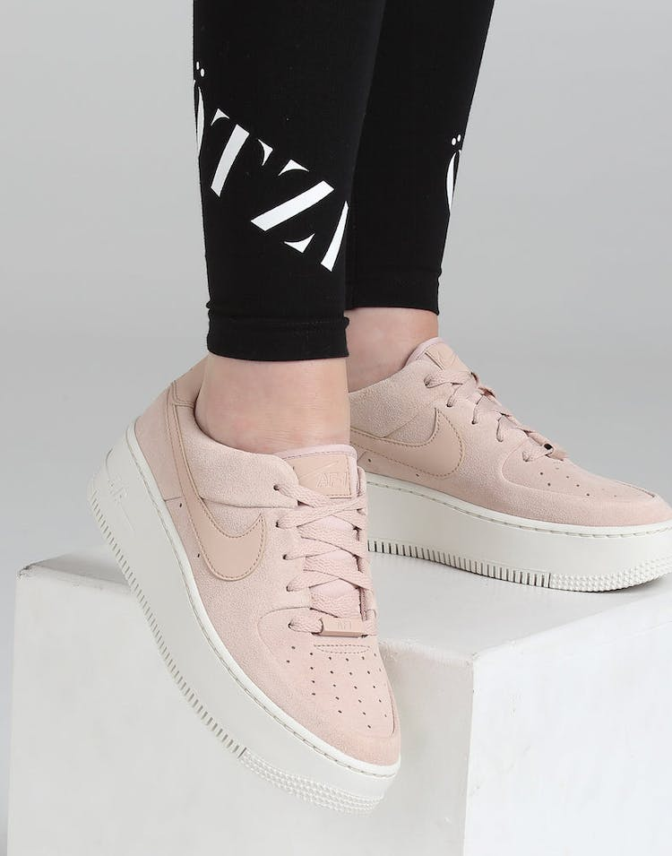 size 40 07fa6 f86f6 Nike Women s Air Force 1 Sage Low Beige White