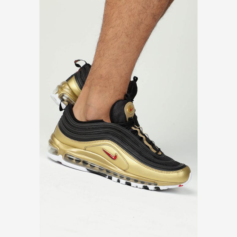 Nike Air Max 97 QS Black Red Gold – Culture Kings 2f1d82ba0
