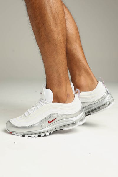 Nike Air Max 97 QS White/Red/Silver