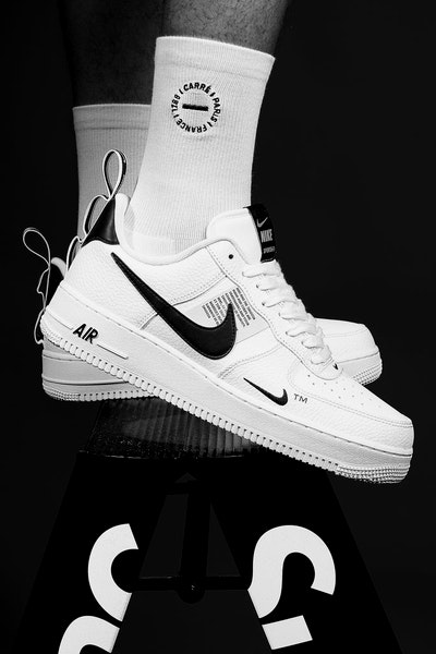 8918c8f2b336 Nike Air Force 1  07 LV8 Utility White White Black – Culture Kings