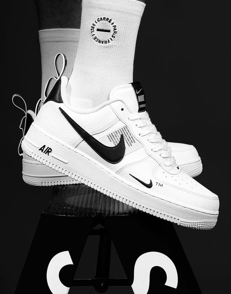 6b6748a510b Nike Air Force 1  07 LV8 Utility White White Black – Culture Kings