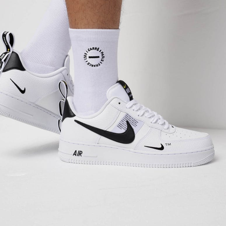 1c829374b1c Nike Air Force 1  07 LV8 Utility White White Black – Culture Kings