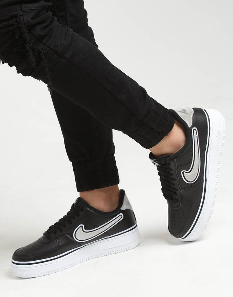 the best attitude 0c59b 59935 Nike Air Force 1  07 LV8 Sport Black White – Culture Kings