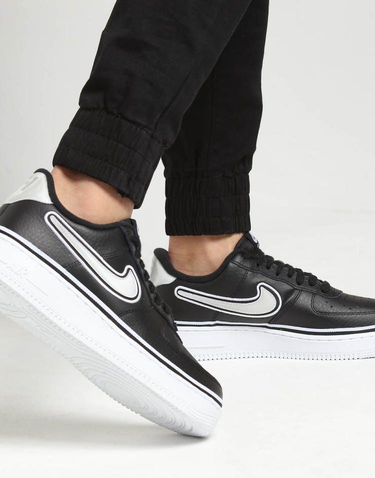 best website c11c4 827c9 Nike Air Force 1  07 LV8 Sport Black White