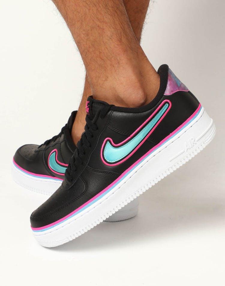 414fbb62e5d Nike Air Force 1  07 LV8 Sport Black Blue – Culture Kings