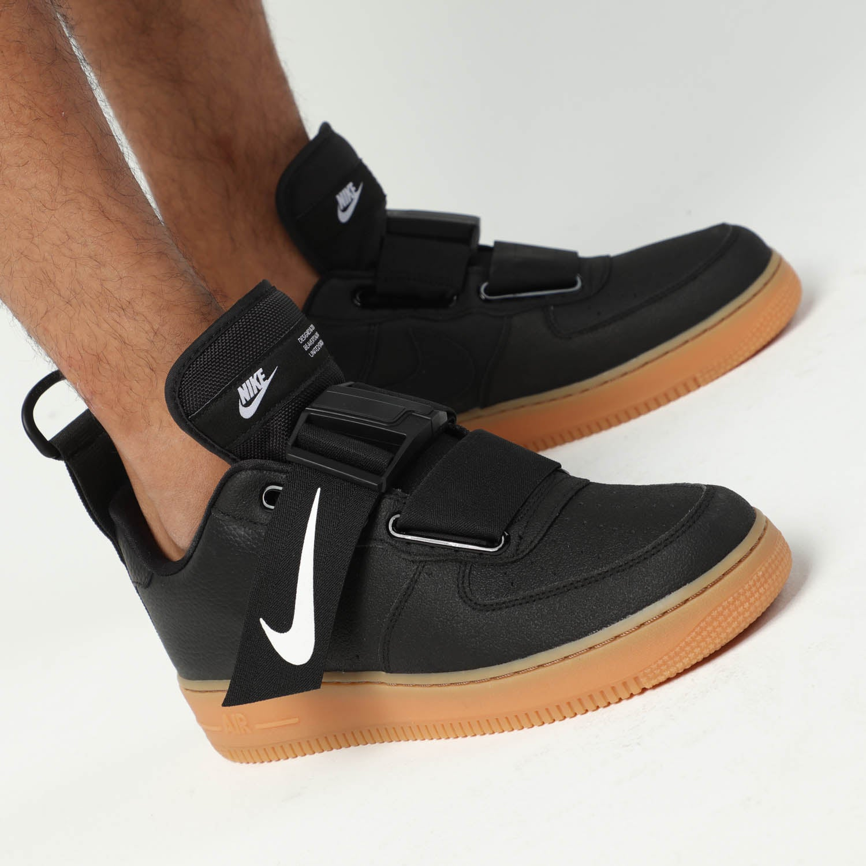 Nike Air Force 1 Utility Black Gum Men's Sneakers NWT