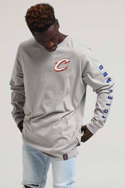 35fbb352 Nike Cleveland Cavaliers City Edition Long Sleeve Dri-fit Tee White