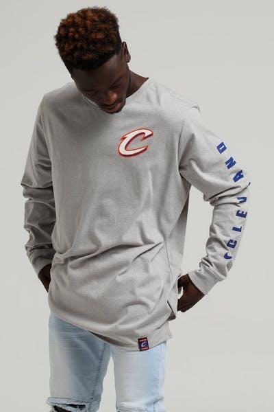 ce9b2ff2ba3 Nike Cleveland Cavaliers City Edition Long Sleeve Dri-fit Tee White