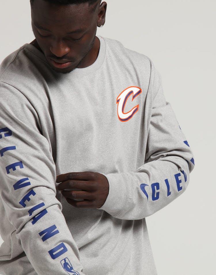 c891e7c6 Nike Cleveland Cavaliers City Edition Long Sleeve Dri-fit Tee White