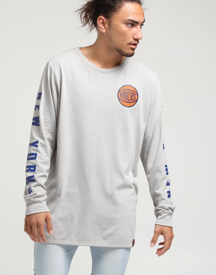 146f0d132088 Nike New York Knicks City Edition Long Sleeve Dri-Fit Tee White – Culture  Kings