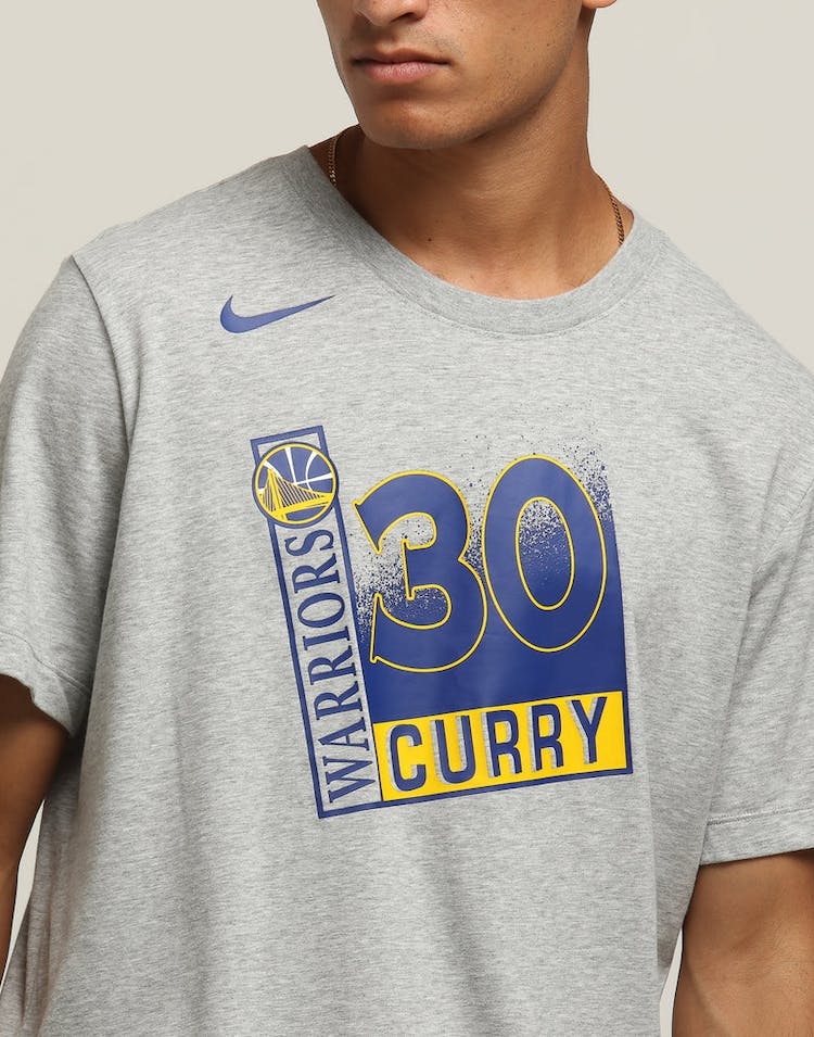 9d89186535a8 Nike Golden State Warriors Stephen Curry  30 Dri-Fit Tee Dark Grey Heather