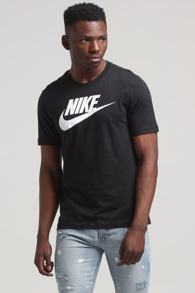Nike Sports Wear SS Tee Black/White