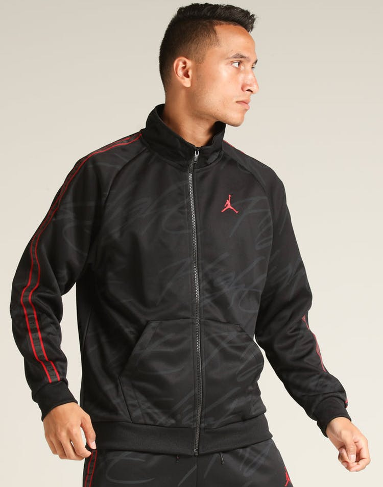 b8eadc53ced57d Jordan Jumpman Tricot Jacket Black Red – Culture Kings