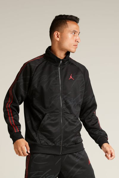 Jordan Jumpman Tricot Jacket Black/Red