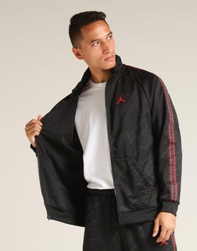 4c952e2c65cbb2 Jordan Jumpman Tricot Jacket Black Red – Culture Kings