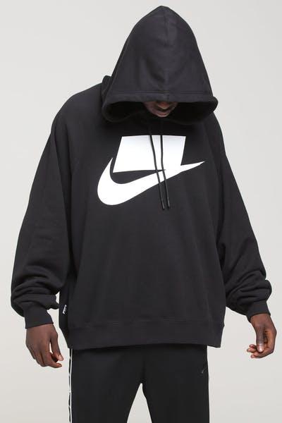 393350264172 Nike Sportswear NSW Hood Black White