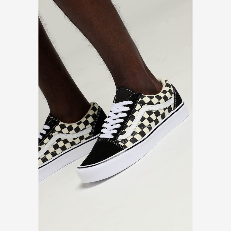 c05a456883db Vans Old Skool Lite (Checkerboard) Black White – Culture Kings