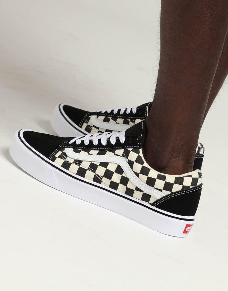 60e7e92561 Vans Old Skool Lite (Checkerboard) Black White – Culture Kings