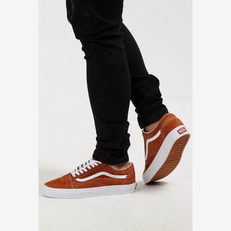 Vans Old Skool Pig Suede Brown White – Culture Kings ee8bdd034