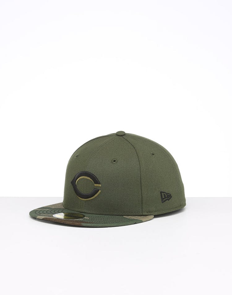 New Era Cincinnati Reds 59FIFTY ALT Fitted Camo/OTC