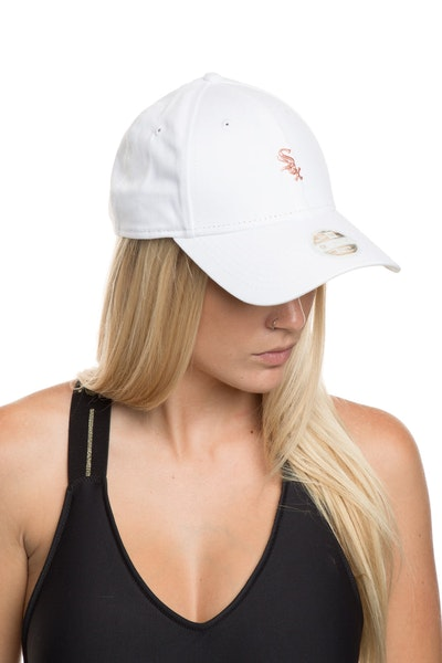 New Era Women's Chicago White Sox TPU 940 Strapback White/Rose Gold