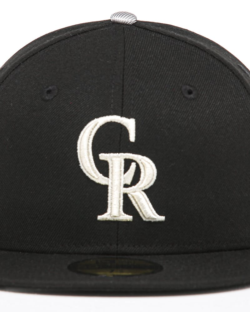 New Era Colorado Rockies 59FIFTY Fitted Black/OTC