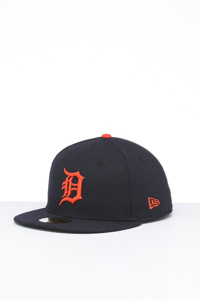 New Era Detroit Tigers 59FIFTY Road Fitted Navy/OTC
