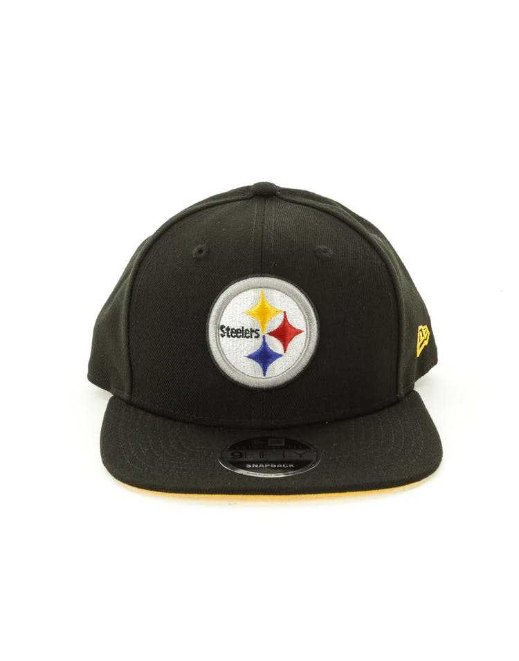 88bbd4a0 New Era Pittsburgh Steelers 9FIFTY Original Fit Snapback Black